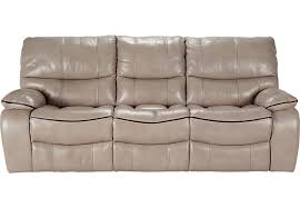 Gray Leather Reclining Sofa Home Leather Reclining Sofa