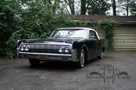 Lincoln Continental Matrix 1964 Lincoln Continental Significant Cars Inc