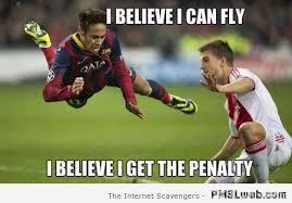 Neymar Memes - 6 flying neymar football meme pmslweb