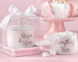 sugar and spice and everything baby shower sugar spice and everything sugar bowl baby shower favors