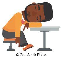 Sleeping In A Chair Clipart Of Tired Man In Chair This Illustration Depicts A Tired