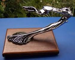 flying 1929 thru 1932 cadillac style chrome ornament