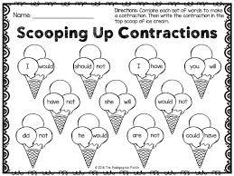 best 25 contraction worksheet ideas on pinterest language arts