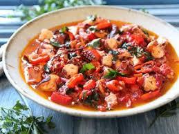 cuisiner le poulpe spaghettis au poulpe facile recette sur cuisine actuelle