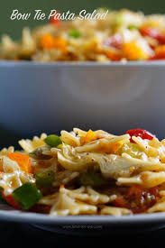 bow tie pasta salad recipe bowl me over