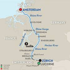 cruise itinerary lucerne to amsterdam river cruise