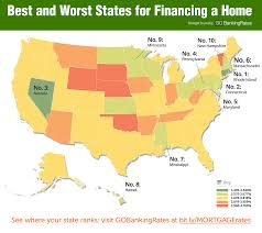 best and worst states for first time home buyers gobankingrates
