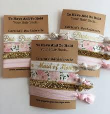 bachelorette party gift bags bachelorette party idea personalized favor bachelorette hair