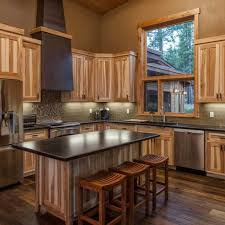 knotty hickory cabinets kitchen rustic hickory kitchen cabinets the cabinets plus rustic hickory