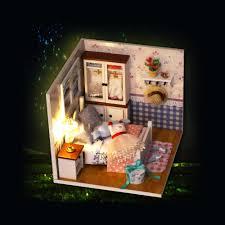 house kit best diy house miniature kit dollhouse creative sale online
