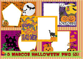 haloween png 5 marcos halloween png by gissy21 on deviantart