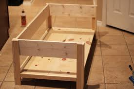 how to build a table with drawers diy pottery barn inspired benchwright coffee table shanty 2 chic