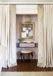 Velvet Panel Borders On Drapery Design By Elisabeth Jordan Via