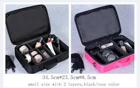 Professional Makeup Carrier Wholesale Large Capacity Professional Makeup Bag Fashion Cosmetic