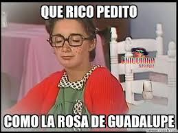 Rosa De Guadalupe Meme - de guadalupe