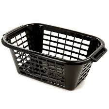 white laundry hampers addis rectangular laundry basket