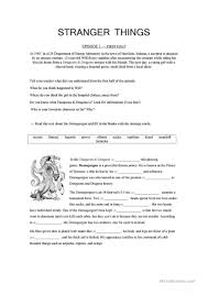 Stranger Danger Worksheets 20 Free Esl Tv Show Worksheets