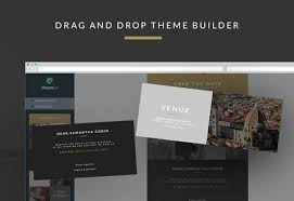 wedding invitation email template builder access on behance