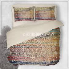 bohemian comforters top bohemian medallion duvet cover with