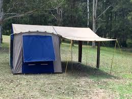 Tent Awning Diamantina Canvas Tent Awning Extension Pack Of 2 Kangaroo Tent