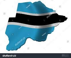 Botswana Flag Flag Map Botswana Stock Illustration 73118194 Shutterstock