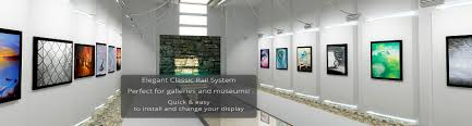 Display Gallery by Art Sign U0026 Display Cable And Rod Hanging Systems Mbs Hanging Systems