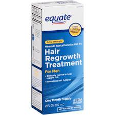 equate hair regrowth treatment for men 2 11 oz walmart com