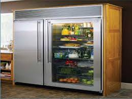 glass door small refrigerator refrigerator with glass doors for homes