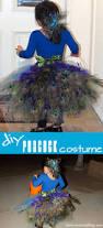 Peacock Halloween Costumes Girls Diy Peacock Costume Tulle Tutu Peacock Feathers Bustle