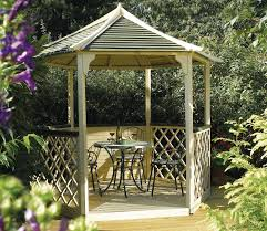 8 Sided Wooden Gazebo by Garden Gazebos For Sale Free Uk Delivery Gardensite Co Uk