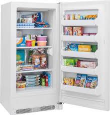 frigidaire fffu13m1qw 12 8 cu ft upright freezer with 3 fixed