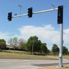 used aluminum light pole for sale street light poles traffic signal pole manufacturer from pune
