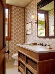 hot summer trend 25 dashing powder rooms with tropical flair another beautiful tropical bathroom where wallpaper sets the mood design gm construction