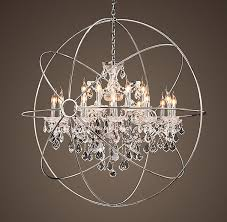 Industrial Crystal Chandelier Great Crystal Orb Chandelier The Most Amazing Light Fixture Ever