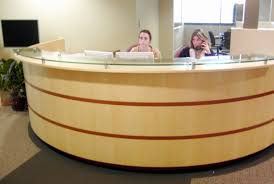 Oval Reception Desk Delight Photos Of Reception Desk For Sale In Solid Wood Desk