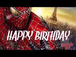 Superhero Birthday Meme - spider man happy birthday youtube