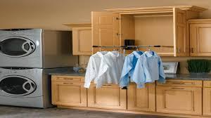 laundry hanging rod adjustable closet rod pull down closet rod