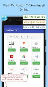tv online romanesti flashtv canale tv românești apps on google play