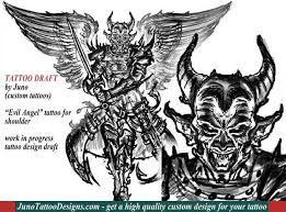 angel vs demon tattoos archives how to create a tattoo 100 online
