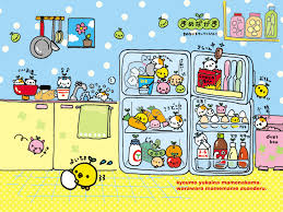Kitchen Wallpaper by Mame Nakama In The Kitchen Wallpaper Kawaii Wallpaper Blog Food