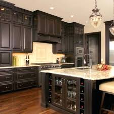 kitchen cabinets dark cherry stain kitchen cabinets dark stained