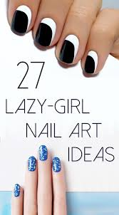 easy nail designs for short nails or kids without tools nail