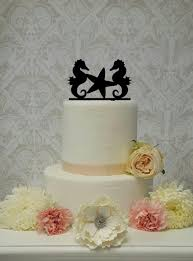 seahorse cake topper spectacularevents weddbook