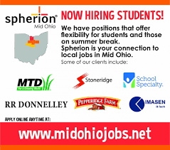 great opportunities for students spherion ohio