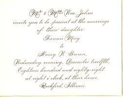 how to write wedding invitations sle wedding invitation letter casadebormela
