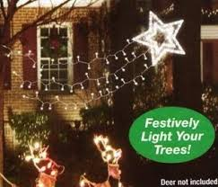 martha stewart christmas lights shooting star amazon com christmas decoration shooting star holiday light