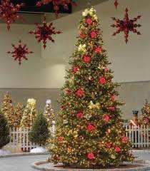 Commercial Christmas Decorations Rental by Poinsettia Tree Stand Holiday Decorating U0026 Ideas Pinterest