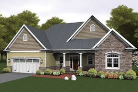 ranch style bungalow ranch home plans from homeplans com