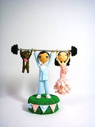 weight lifting cake topper loving custom crossfit cake toppers fit for a