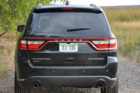 jeep durango 2016 2015 dodge durango citadel awd unapologetically suv review